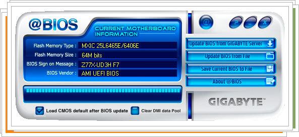 Обновление BIOS